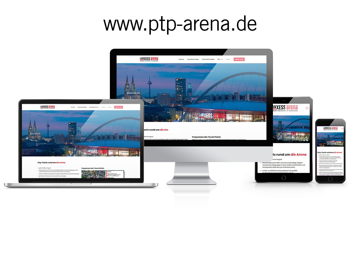 LANXESS arena - PTP-Arena
