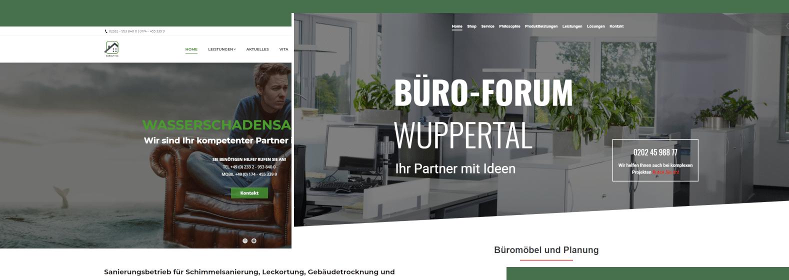 Website Erstellung und individuelles Webdesign