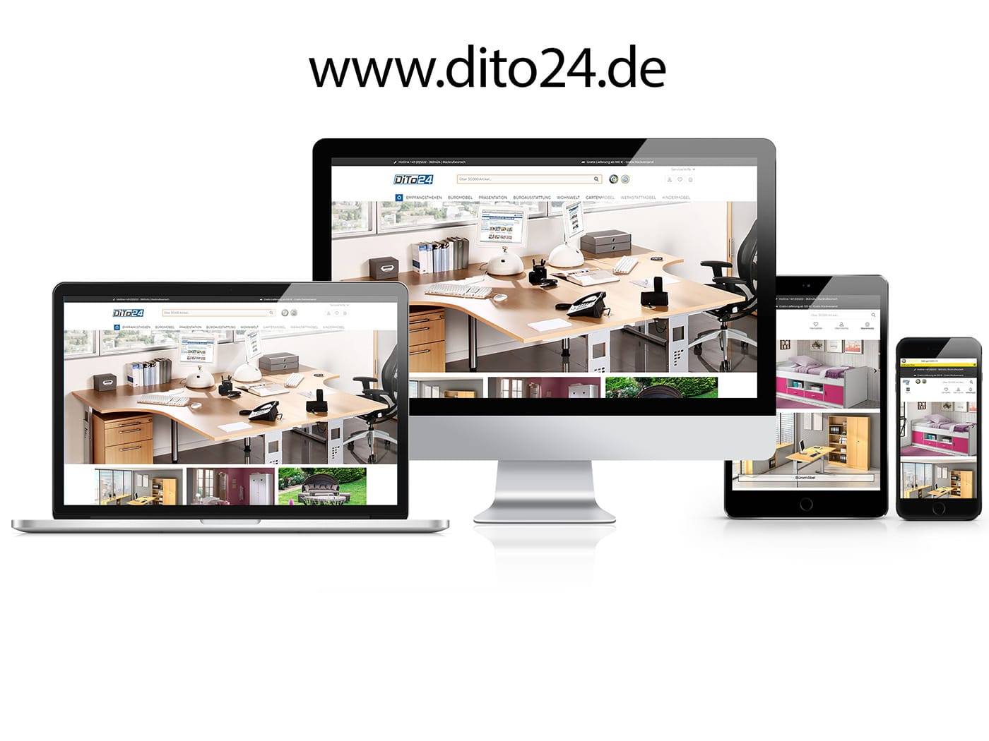 DiTo24 Onlineshop by die codedesigner